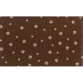 Edusmatto Drymate Paw Stripe Brown 40 x 50 cm