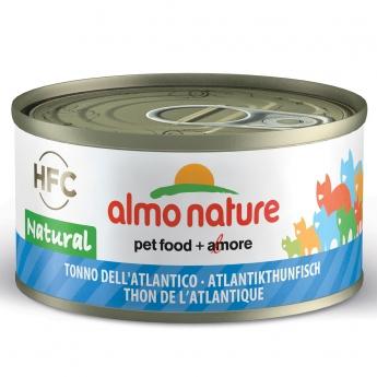 Almo Nature HFC -kissan märkäruoka, Atlantin tonnikala 70 g