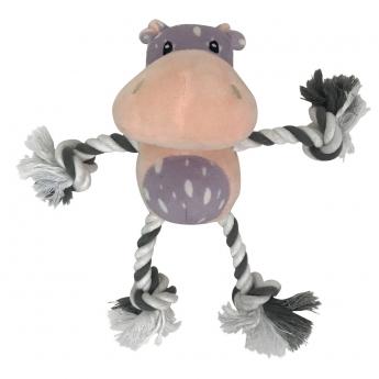 Lelu B-a-B MiniPaws Ropelimbs hippo