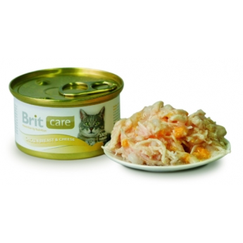 Brit Care kananrinta & juusto, 80g
