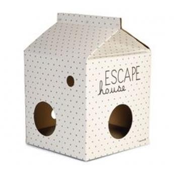 Kartonkitölkkimaja Beeztees Escape