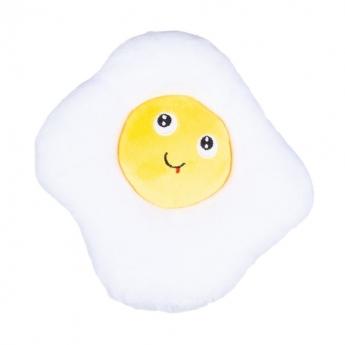 Pehmolelu Little&Bigger FunnyFoods paistettu kananmuna