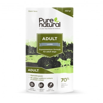Purenatural Adult lammas, 150g