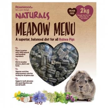 Meadow Menu Guinea Pig Rosewood