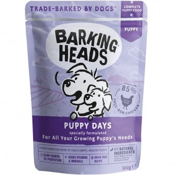 Barking Heads Puppy Days wet 300g