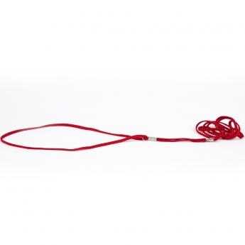 Näyttelyhihna Show Dog pyöreä, punainen