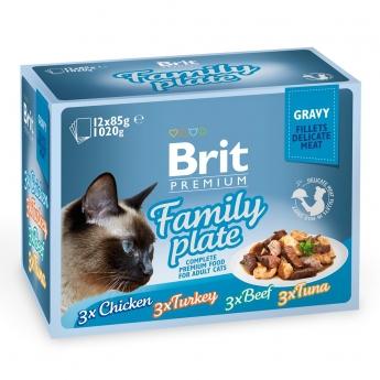 Brit Premium paloja kastik. Multipack 12x85g