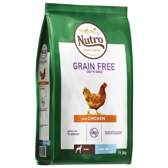 Nutro Grain Free Adult Large Chicken 11,5 kg