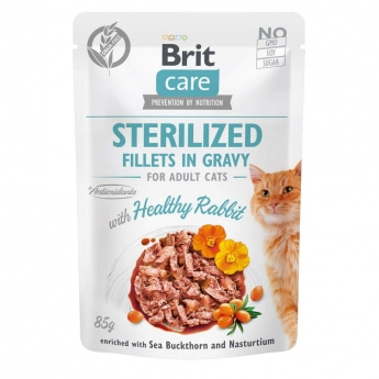 Brit Care Gravy Sterilized kanifilee kastikkeessa 85 g