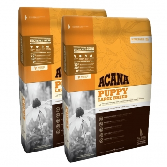 Acana Heritage Puppy Large Breed 2 x 11,4 kg