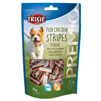 Trixie Premio Stripes, chicken & pollock