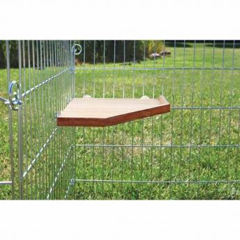Puinen taso häkkiin Trixie 33x33 cm