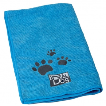 Mikrokuitupyyhe Ideal Dog 2 kpl, sininen