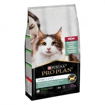 ProPlan Cat Liveclear sterilised kalkkuna 1,4 kg
