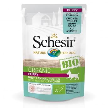 Schesir Bio Dog Puppy Chicken (85 g)