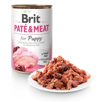 Brit Care Pate & Meat Puppy 400g