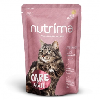 Nutrima Cat Care Adult märkäruoka 85g