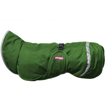 PerusPomppa koiran takki, vihreä