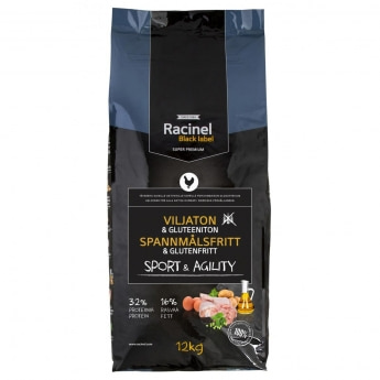 Racinel Black Label Sport & Agility 12kg