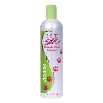 Pet Silk Midnight Black Shampoo, 473 ml
