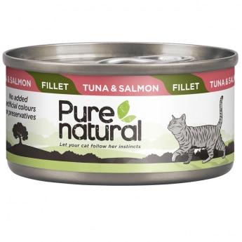 Purenatural Fillet tonnikala & lohi 70g