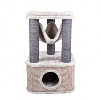 Kissan raapimapuu Basic Meowllow 77cm, harmaa