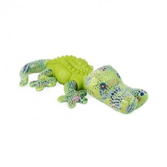 Koiranlelu L&B TreasureLizard Krokotiili, vihreä