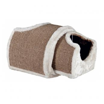 Kissan raapimatunneli, harmaa-ruskea