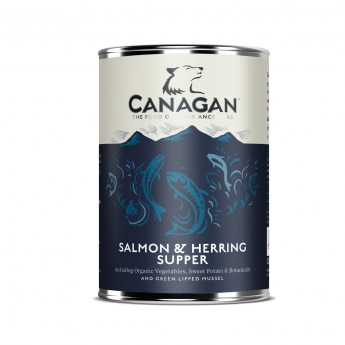 Canagan Supper lohi-silli, 400g