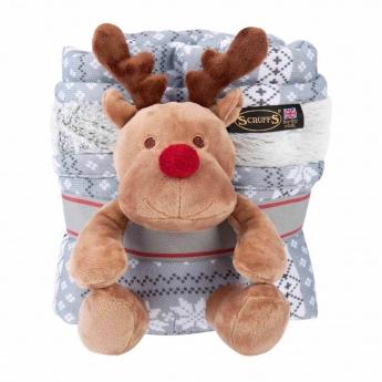 Scruffs Santa Paws -huopa ja lelu