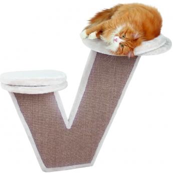 Kissan kiipeilytaso seinälle Trixie