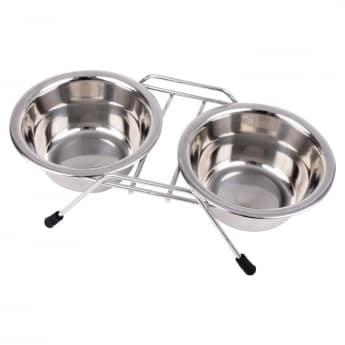 Koiran kuppiteline Little&Bigger Double Diner
