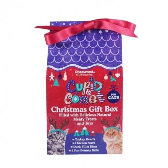 Rosewood Cupid&Comet nauhallinen lahjalaatikko kissoille