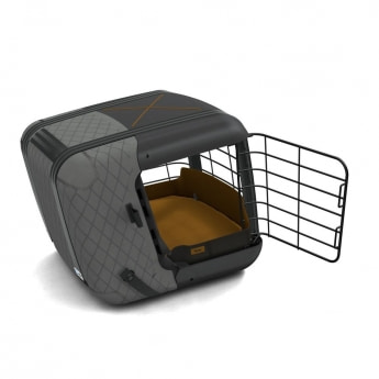 4Pets Caree -koiran kuljetushäkki (Tummanharmaa)