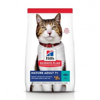 Hill's SP Feline Mature 7+ Tuna 1,5 kg