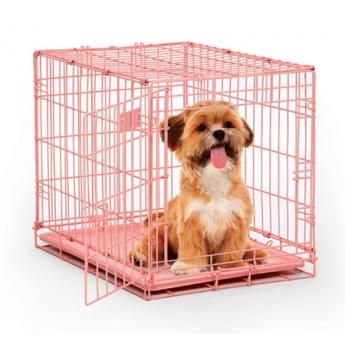 Koiranhäkki iCrate Pink, vaaleanpunainen