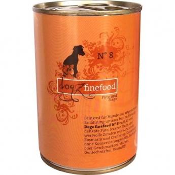 Dogz Finefood N°8 kalkkuna & vuohi (400 g)
