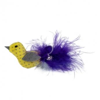 Kissan lelu Little&Bigger PastelClouds lintu höyhenhännällä