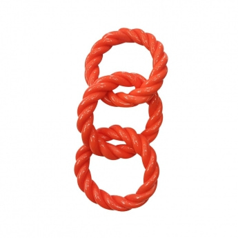 Infinity TPR Triple Rope Ring