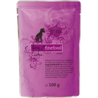 Dogz Finefood N°10 lammas (100 g)