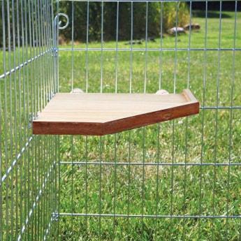 Puinen taso häkkiin Trixie 17x17cm