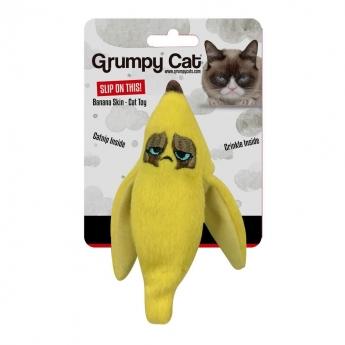 Grumpy Cat -lelu rapiseva banaaninkuori