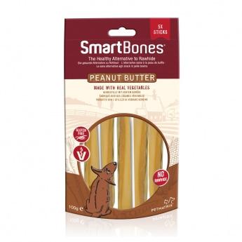 Smartbones Sticks Maapähkinävoi 5 kpl