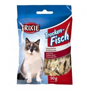 Kuivattu anjovis kissoille Trixie, 50g