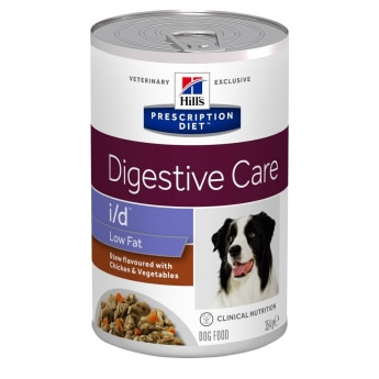Hill's Canine i/d Low Fat muhennos 354 g