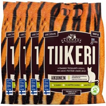 Dagsmark Tiikeri 4x680 g