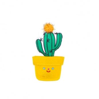 Kissan lelu Little&Bigger Fiesta&Siesta kaktus keltainen ruukku
