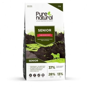 Purenatural Dog Senior Lamb, Salmon & Duck (2 kg)