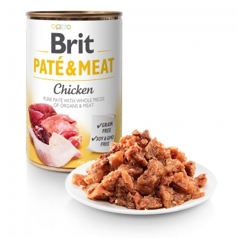 Brit Care Pate & Meat kana 400g