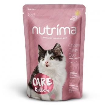 Nutrima Cat Care Kitten märkäruoka 85g